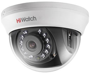 Видеокамера HD-TVI HiWatch DS-T101 (2,8мм) купольная HD-TVI/CVBS