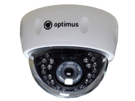 "Видеокамера IP Optimus IP-E022.1(3.6)P_V2035 1/2.7"" 2,1 Мп купольная"