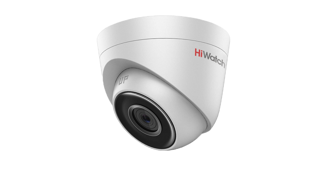 Видеокамера IP Hikvision HiWatch DS-I203 (4 mm) уличная купол EXIR